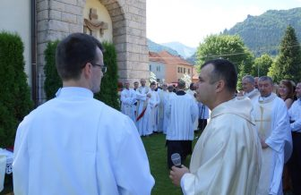 Kňazská vysviacka a primície verbistu Tomáša Baleju