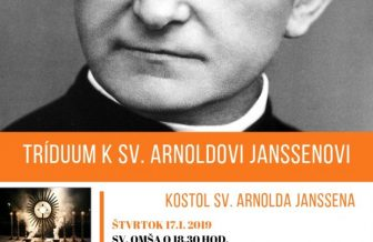 Tríduum k sv. Arnoldovi Janssenovi